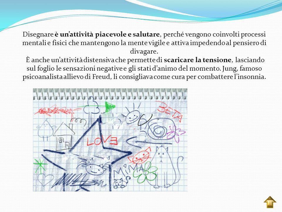Il disegno è uno strumento utile per l'interpretazione della nostra personalità perché rappresentano una delle espressioni delle nostre emozioni e del