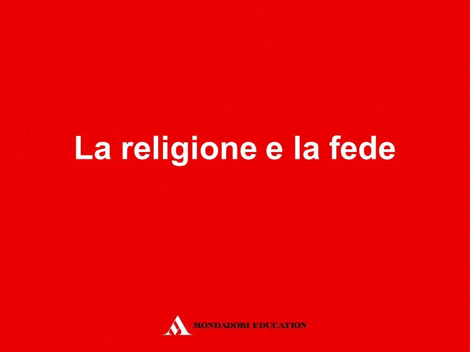La religione e la fede