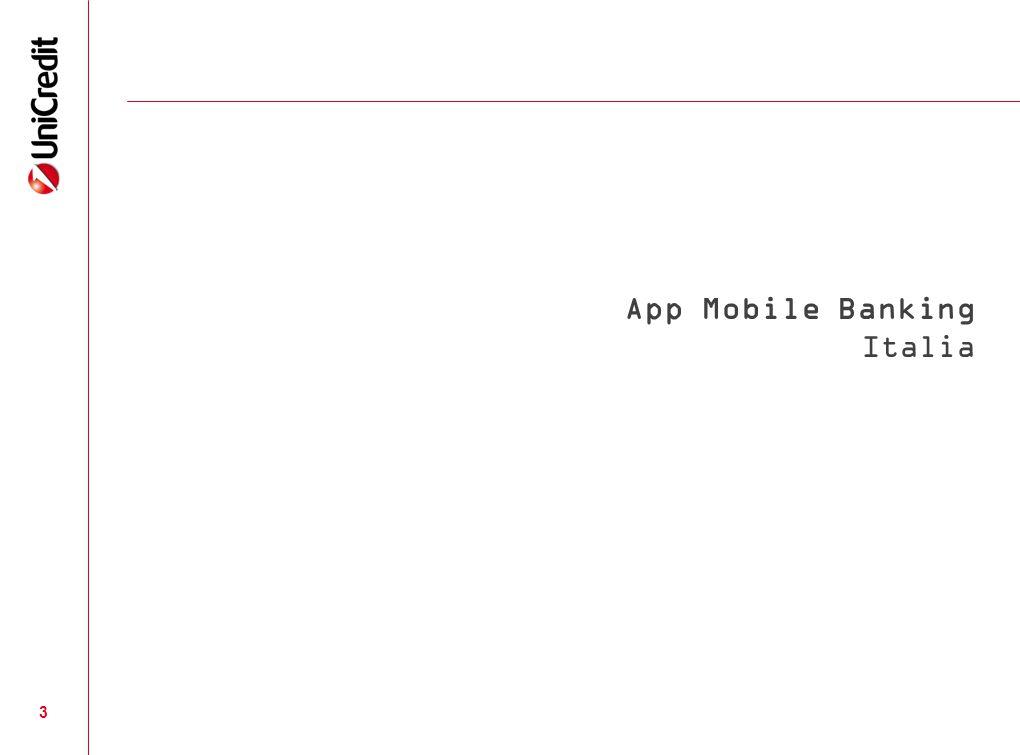 3 App Mobile Banking Italia