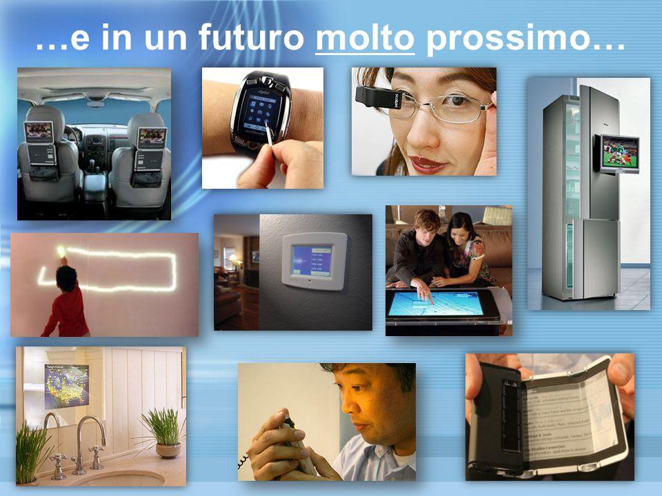 …e in un futuro molto prossimo…