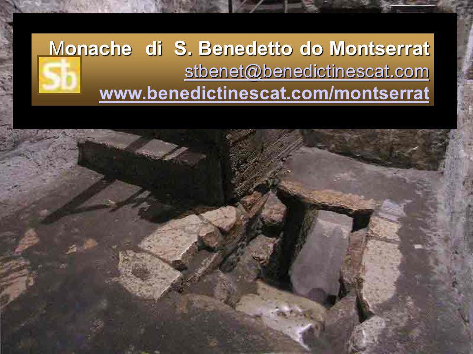 Monache di S. Benedetto do Montserrat stbenet@benedictinescat.com Monache di S. Benedetto do Montserrat stbenet@benedictinescat.com www.benedictinesca