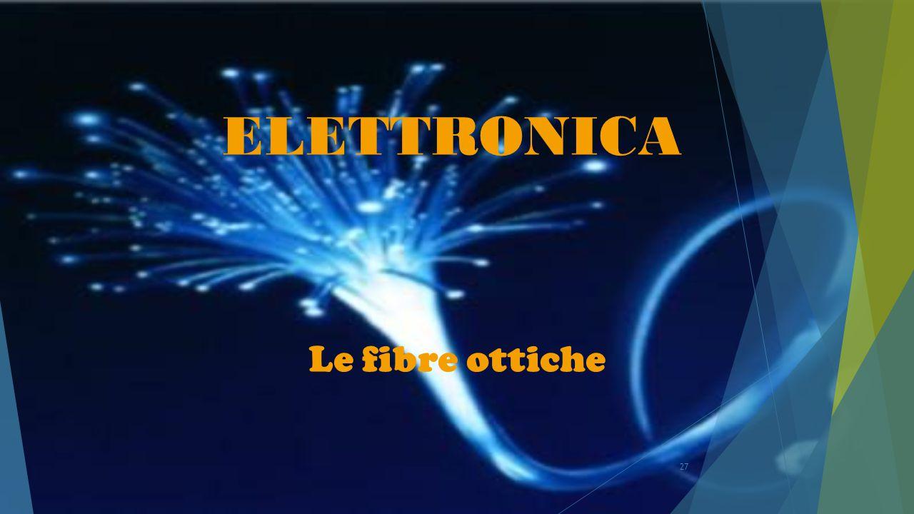 27 ELETTRONICA Le fibre ottiche