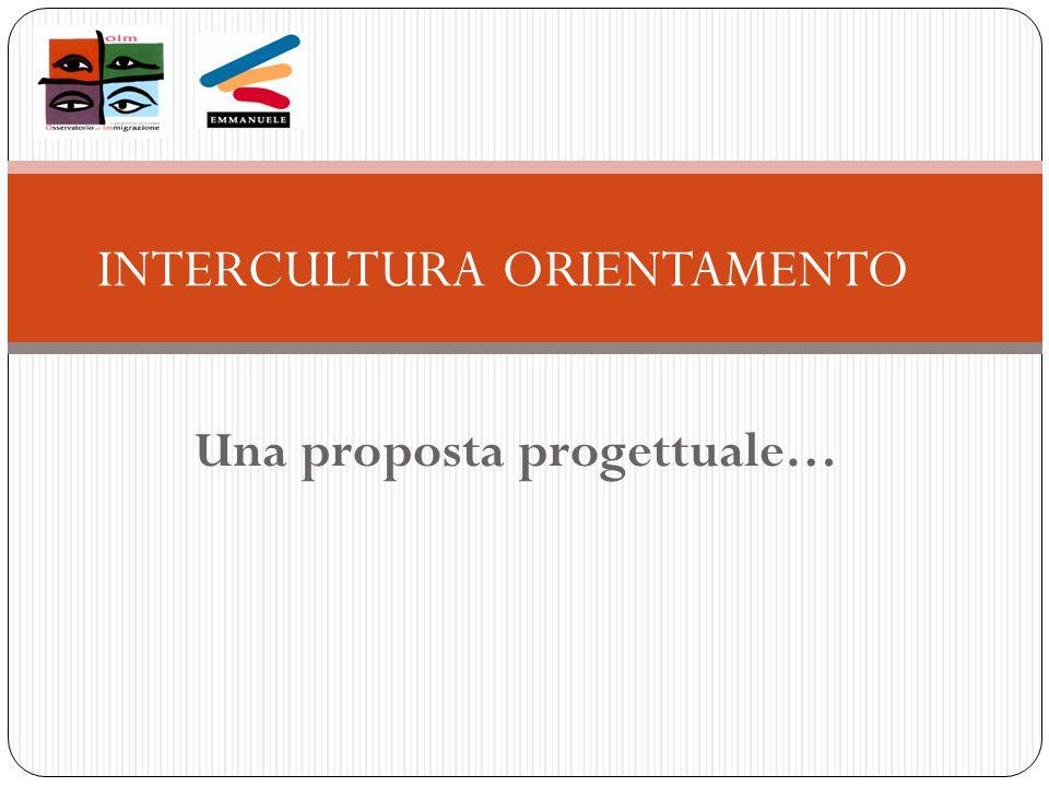 Una proposta progettuale… INTERCULTURA ORIENTAMENTO