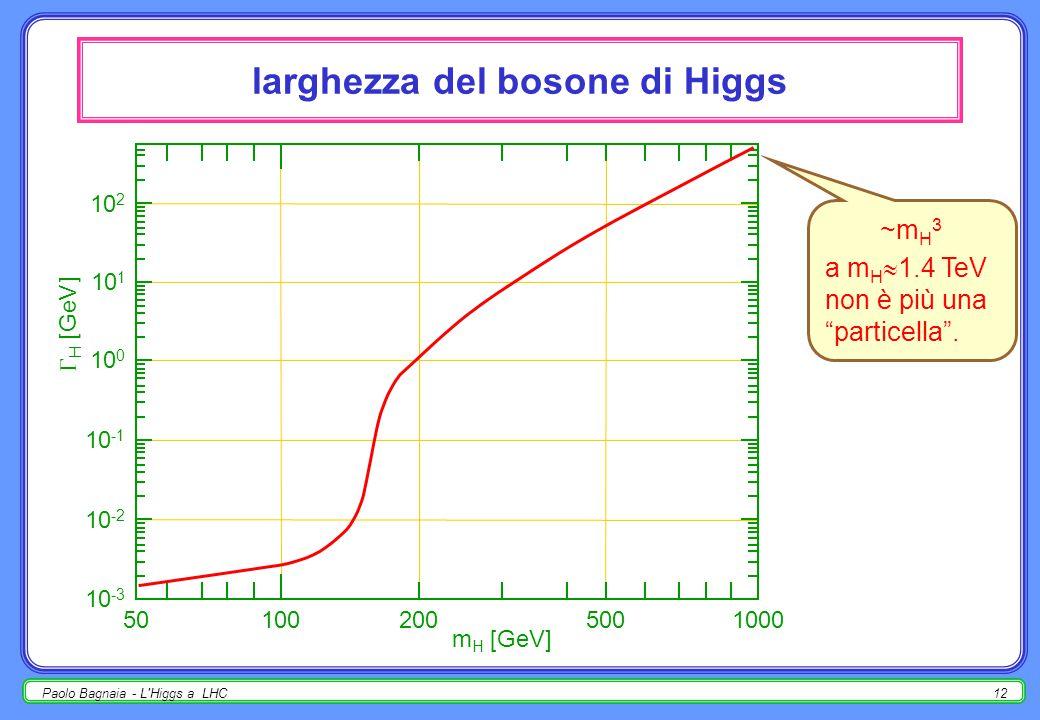 Paolo Bagnaia - L Higgs a LHC11 decadimento del bosone di Higgs - domande !!!!!!