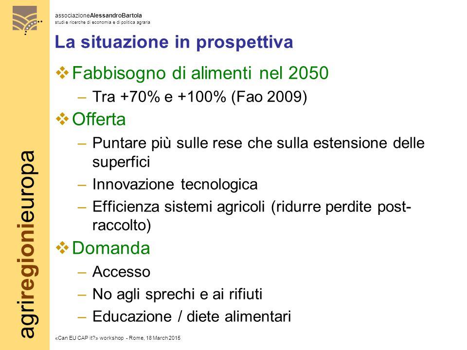 agriregionieuropa associazioneAlessandroBartola studi e ricerche di economia e di politica agraria «Can EU CAP it?» workshop - Rome, 18 March 2015 Investimenti diretti esteri (IDE)  Positivi o negativi.