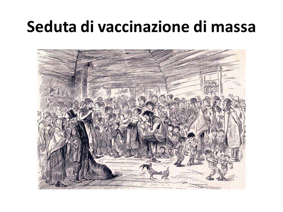 Seduta di vaccinazione di massa