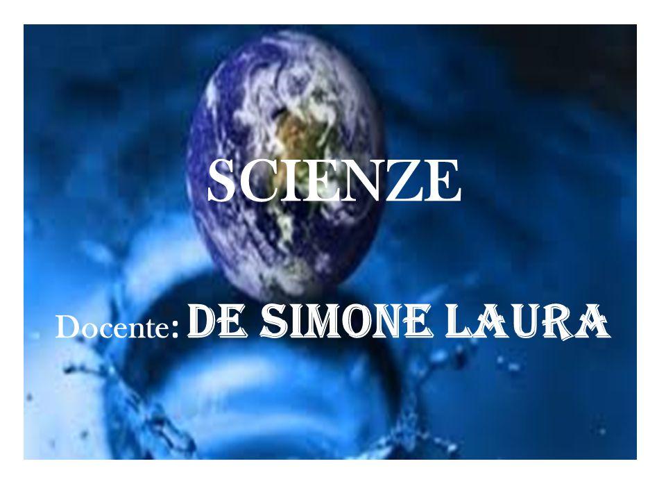 SCIENZE Docente : De Simone Laura