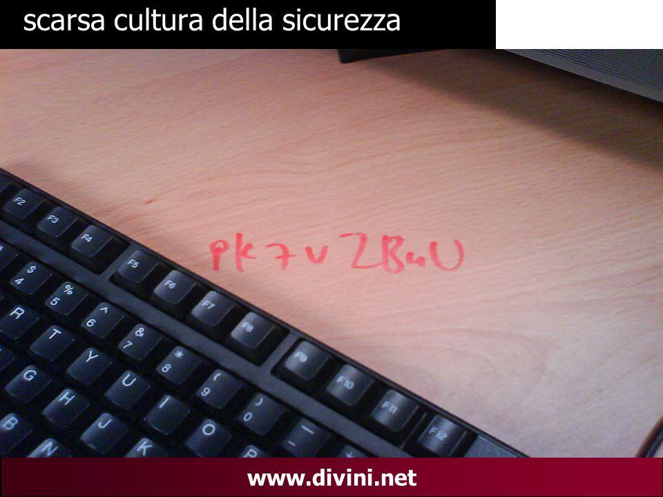 00 AN 27 www.divini.net scarsa cultura della sicurezza