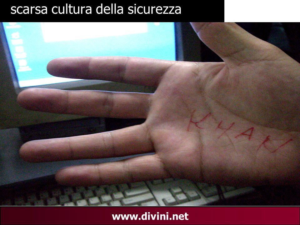 00 AN 28 www.divini.net scarsa cultura della sicurezza