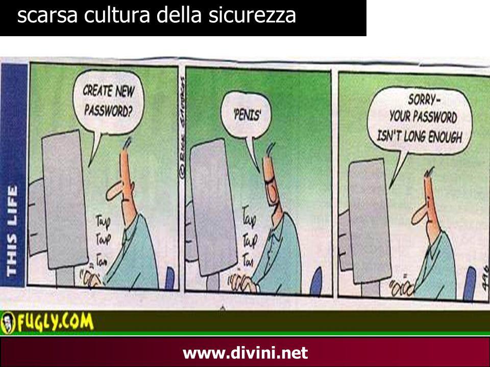 00 AN 29 www.divini.net scarsa cultura della sicurezza