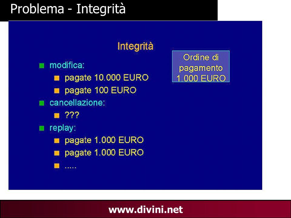 00 AN 6 www.divini.net Problema - Integrità