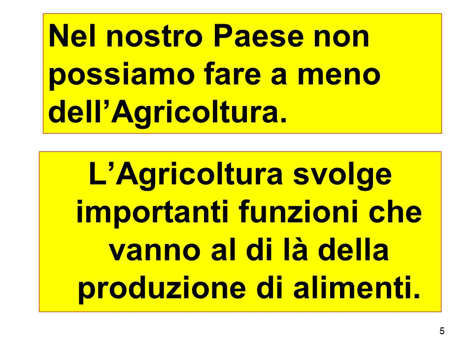 46 …purtroppo gli OGM non fanno parte di questa strategia.