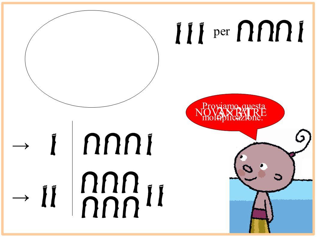 Proviamo questa moltiplicazione. 3×31 → → NOVANTATRE per