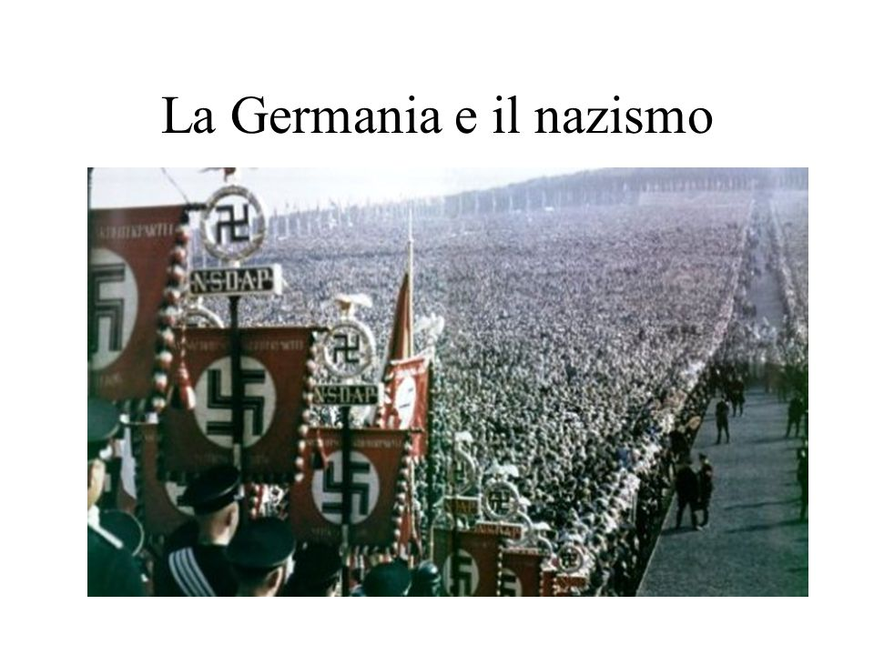 La Germania e il nazismo