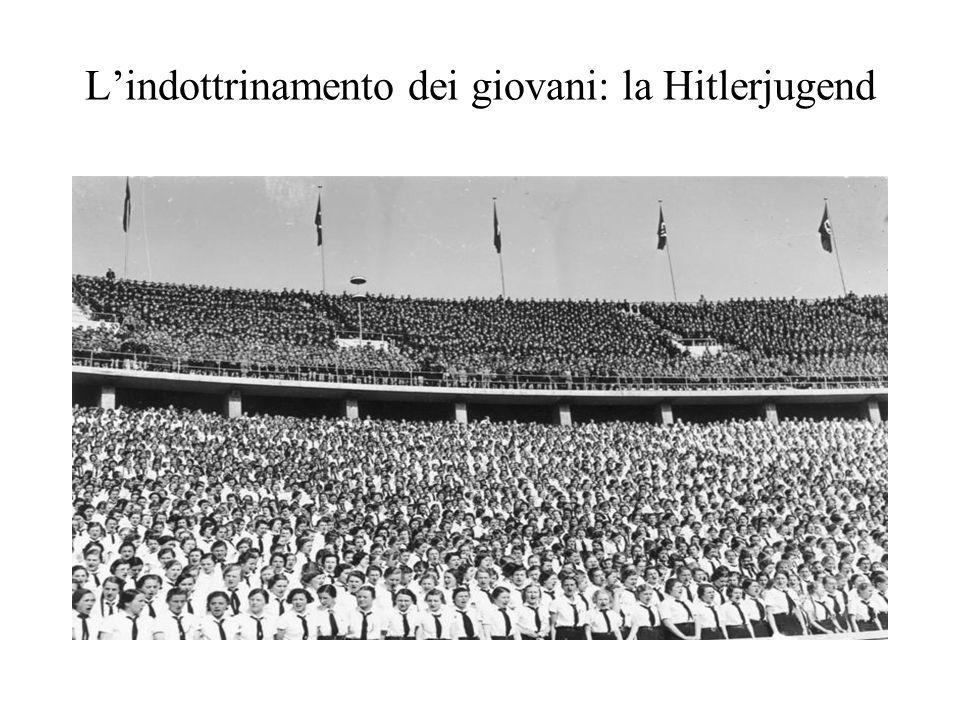 L'indottrinamento dei giovani: la Hitlerjugend