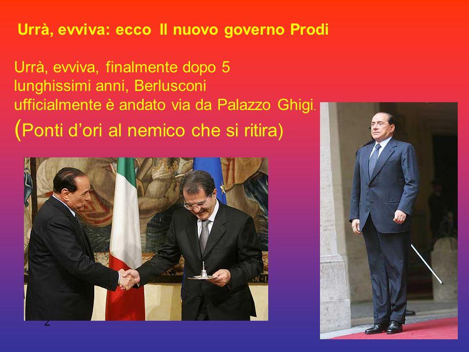 Il nuovo governo Prodi Carrubba Biagio