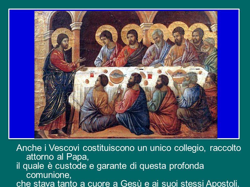 Quando Gesù ha scelto e chiamato gli Apostoli, li ha pensati non separati l'uno dall'altro, ognuno per conto proprio, ma insieme, perché stessero con