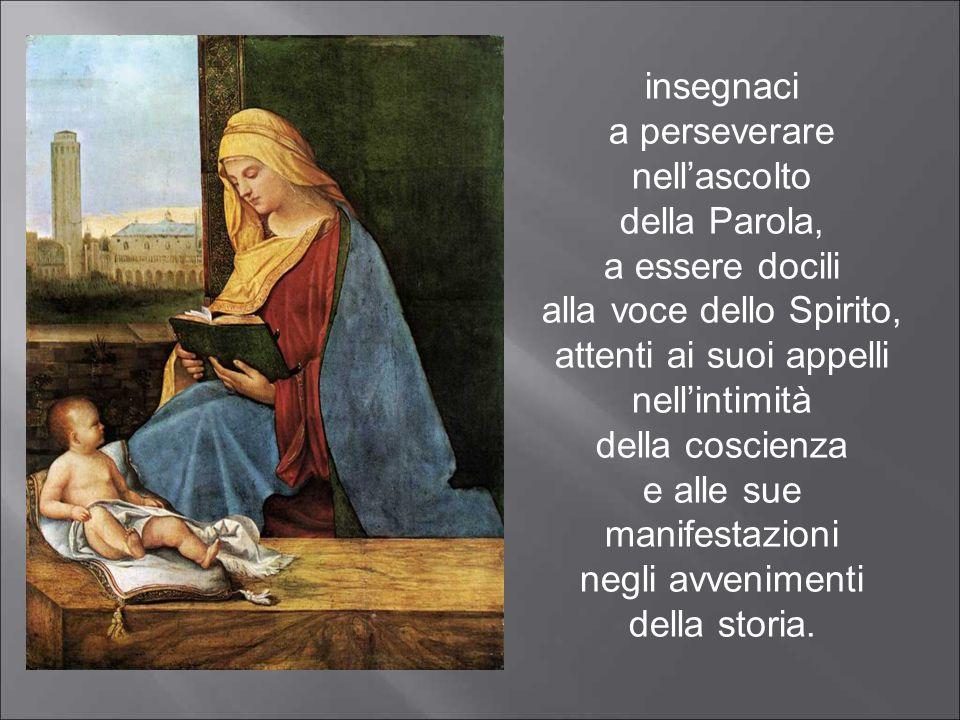 Ave Maria, Donna del dolore, Madre dei viventi.