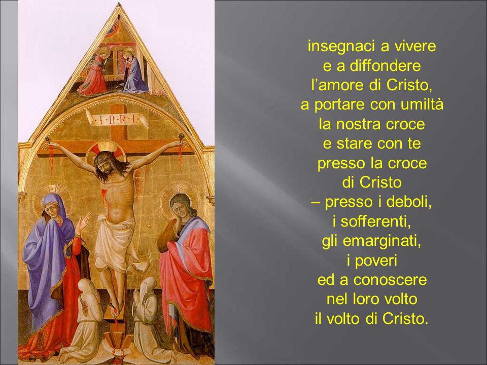 Ave Maria, Donna della fede, prima dei discepoli! Vergine Madre della Chiesa,