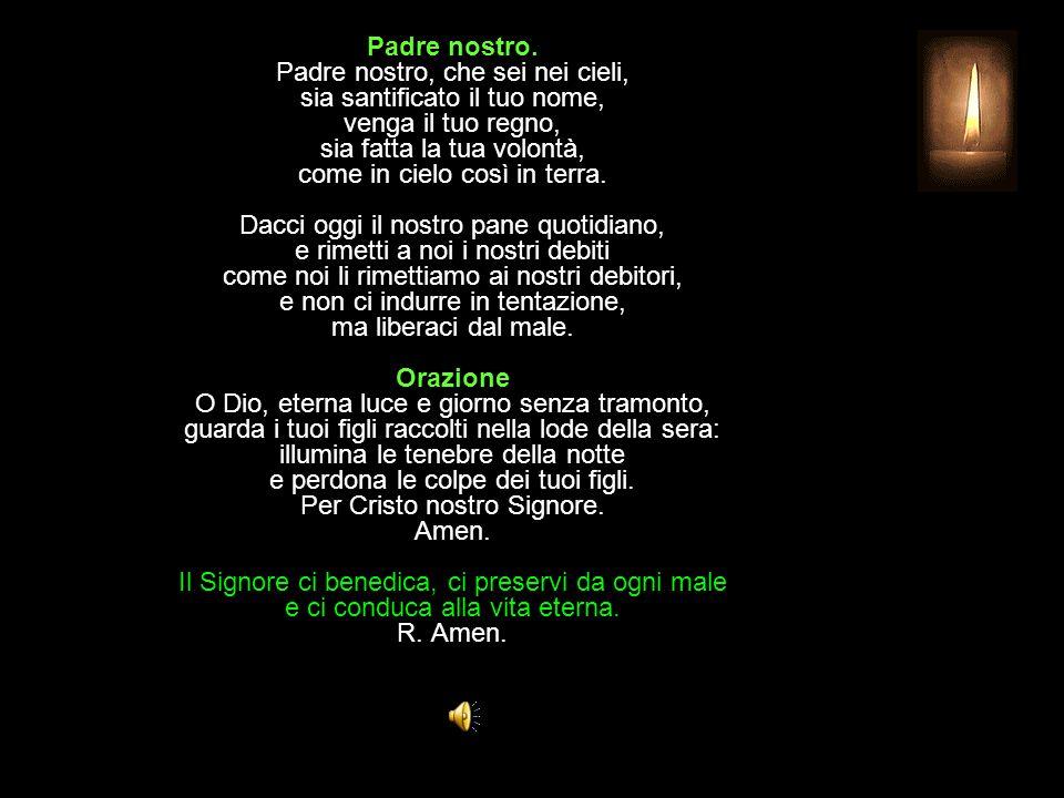 Antifona al Magnificat L anima mia magnifica il Signore: umile e povera egli mi ha guardata.