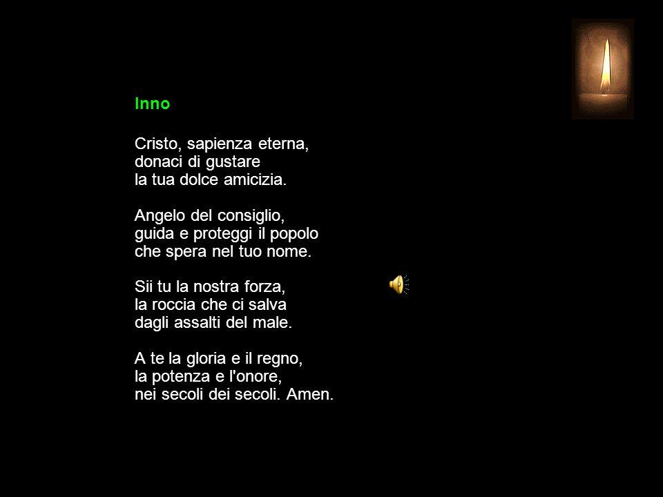 1 LUGLIO 2015 MERCOLEDÌ - XIII SETTIMANA DEL TEMPO ORDINARIO UFFICIO DELLE LETTURE INVITATORIO V.