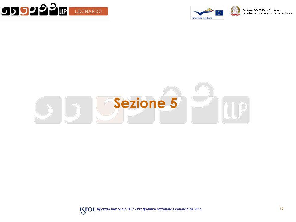 16 Sezione 5
