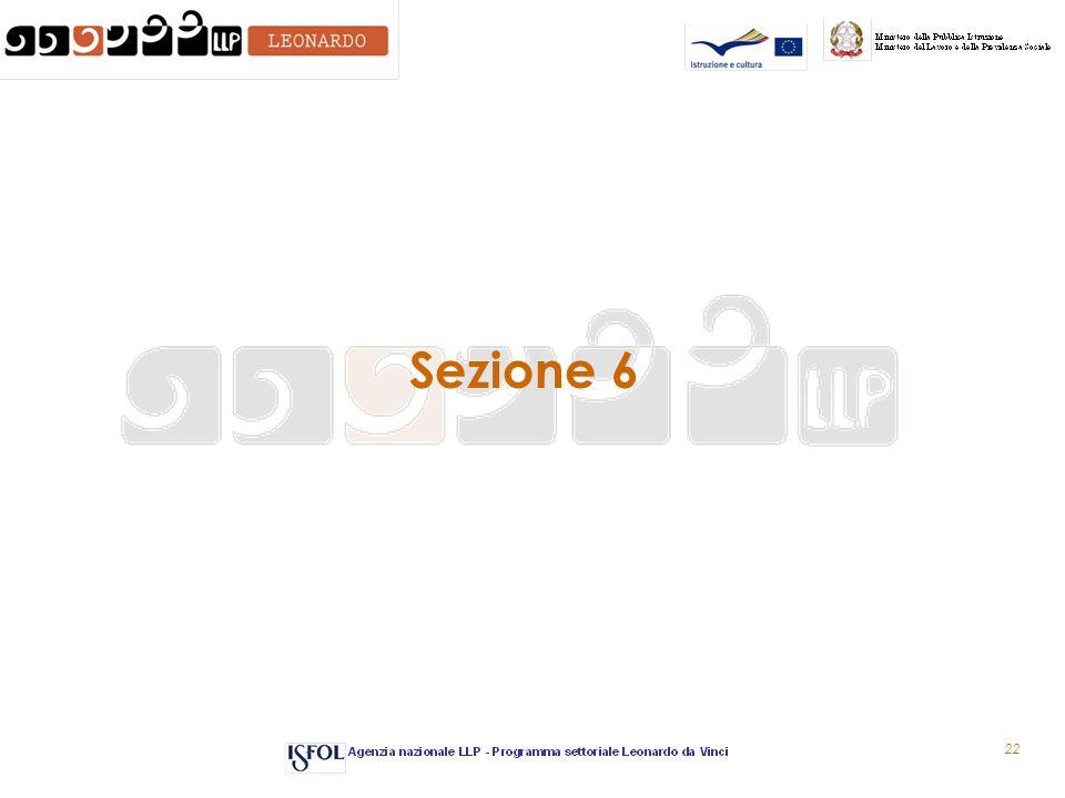 22 Sezione 6