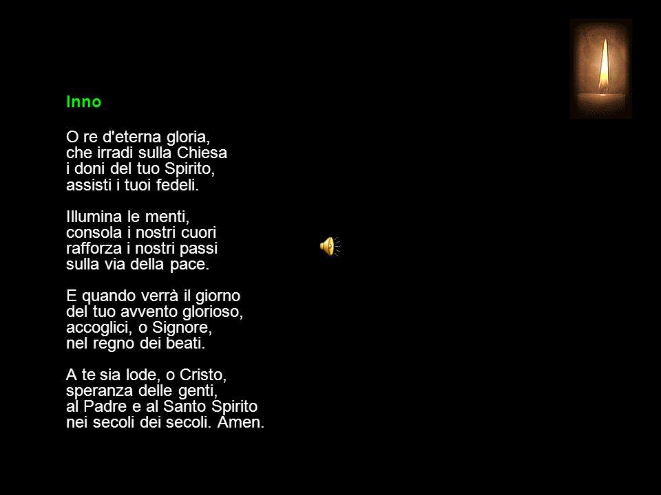4 LUGLIO 2015 SABATO - XIII SETTIMANA DEL TEMPO ORDINARIO UFFICIO DELLE LETTURE INVITATORIO V. Signore, apri le mie labbra R. e la mia bocca proclami