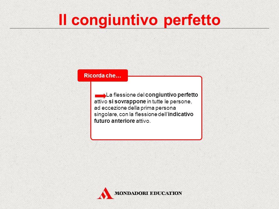 Il congiuntivo perfetto Ecco la flessione del congiuntivo perfetto del verbo dico, dicis, dixi, dictum, dicĕre: Tabelle di flessione Dico, -is, dixi,