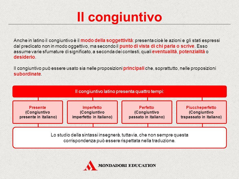 In italiano Il congiuntivo è il modo che esprime la soggettività, il dubbio, la possibilità, l'incertezza e il desiderio. Esso si contrappone all'indi