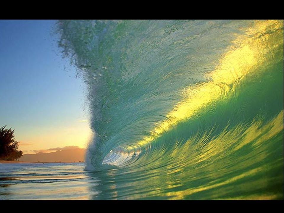 Le onde che fotografa hanno un'altezza variabile tra i 90 cm ed i 4,5 m. Molte volte è stato trascinato fino a 10 m di distanza dal punto di partenza.