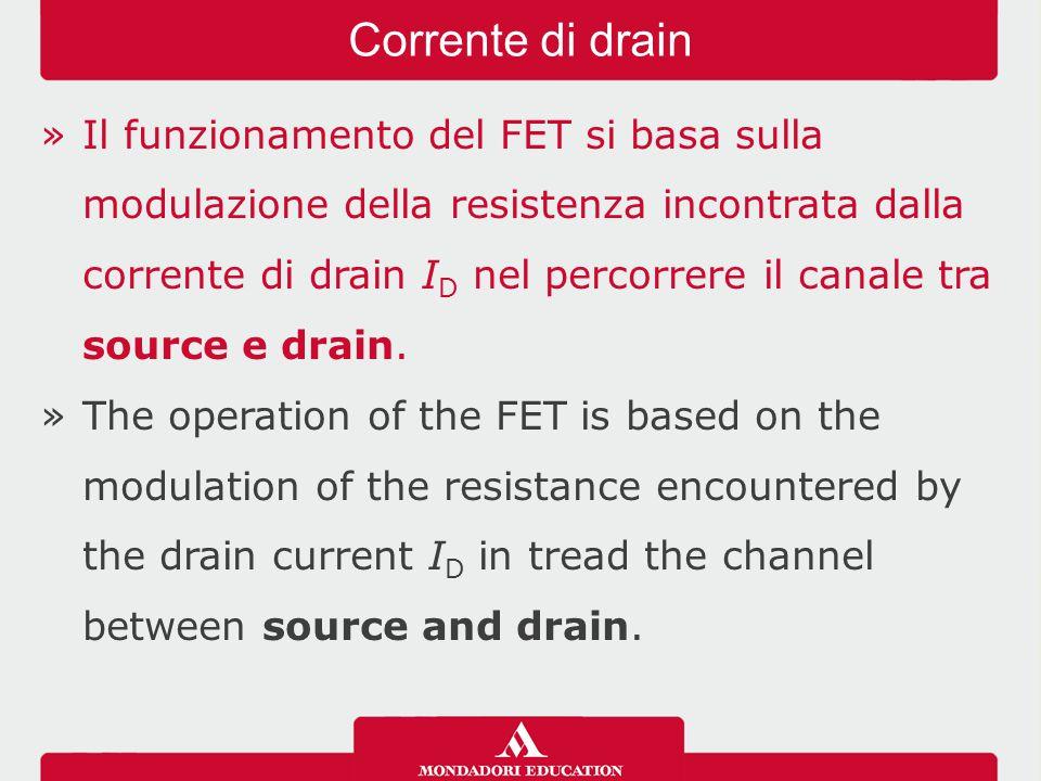 »Tra le varie caratteristiche grafiche fornite dalle case costruttrici, di solito quelle più importanti sono quelle di drain e quelle mutue, riguardanti il JFET montato a source comune.