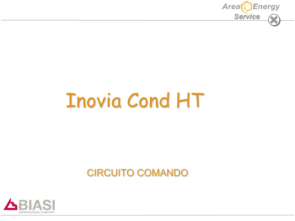 Service Inovia Cond HT CIRCUITO COMANDO Inovia Cond HT CIRCUITO COMANDO