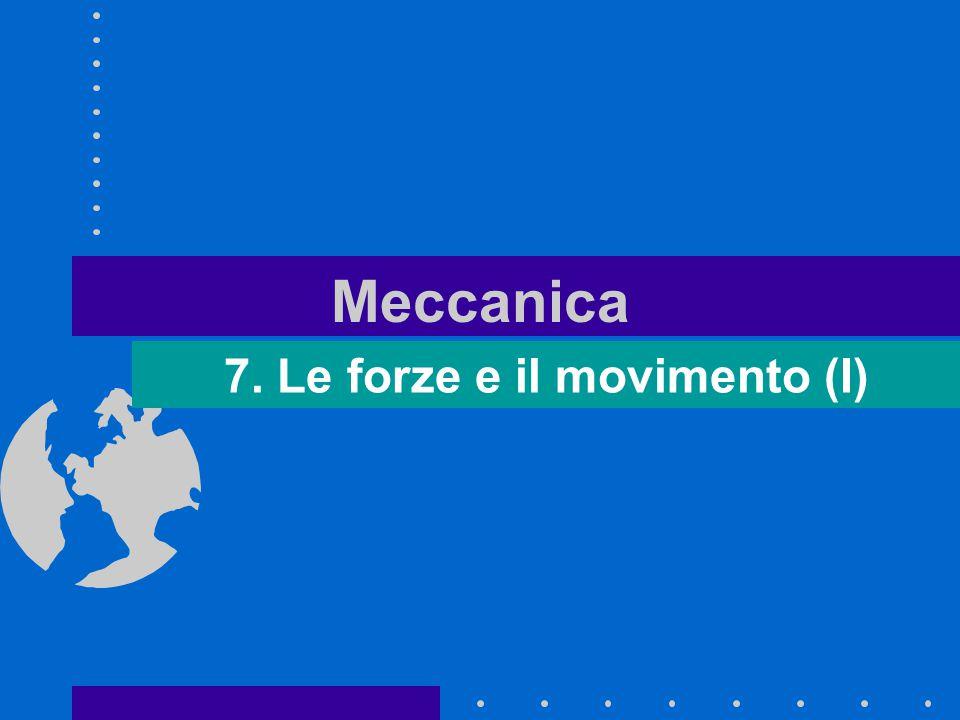 Meccanica 7. Le forze e il movimento (I)