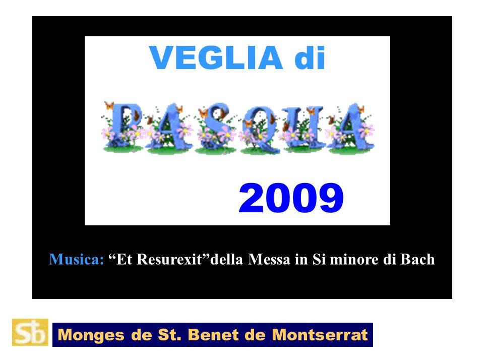 VEGLIA di 2009 Monges de St.