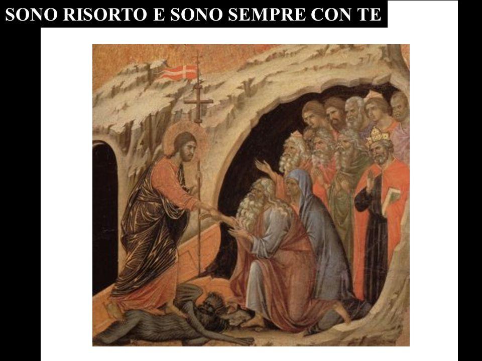 Gesù Risorto è la PAROLA ETERNA che convive con gli uomini .