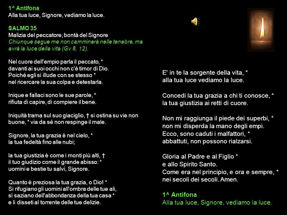 1 LUGLIO 2015 MERCOLEDÌ - I SETTIMANA DEL SALTERIO DEL T.