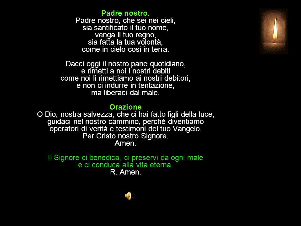 Antifona al Benedictus Dimostraci, o Dio, la tua misericordia, e ricorda il tuo patto santo.