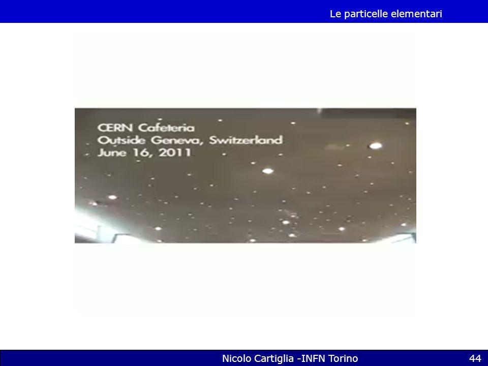 Le particelle elementari Nicolo Cartiglia -INFN Torino44