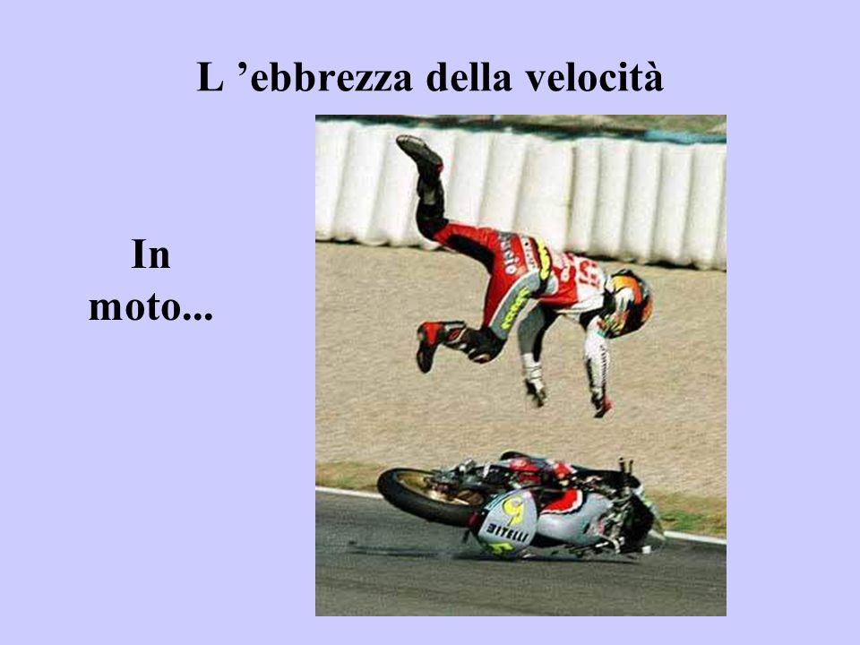 L 'ebbrezza della velocità In moto...