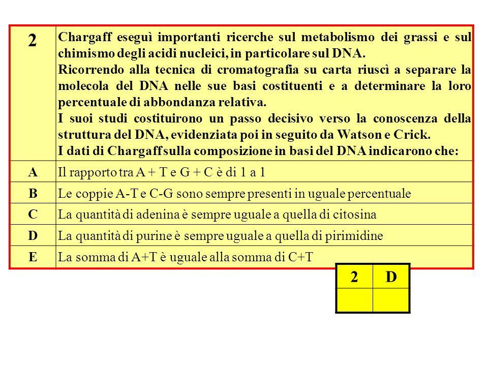 3 Quale tra i seguenti composti, NON è un costituente di un generico acido nucleico.