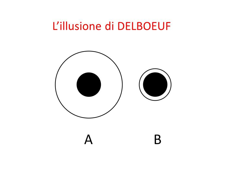AB L'illusione di DELBOEUF