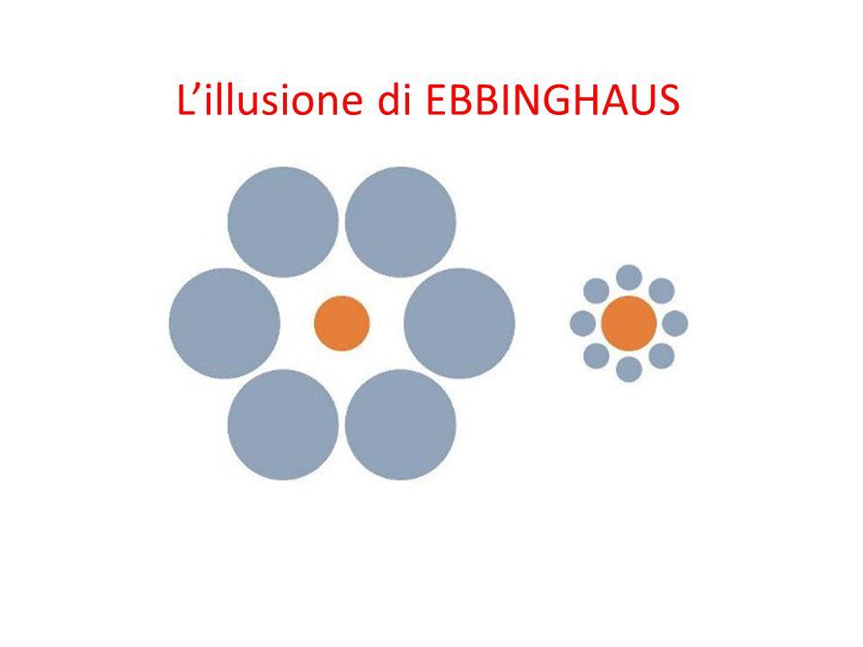 L'illusione di EBBINGHAUS
