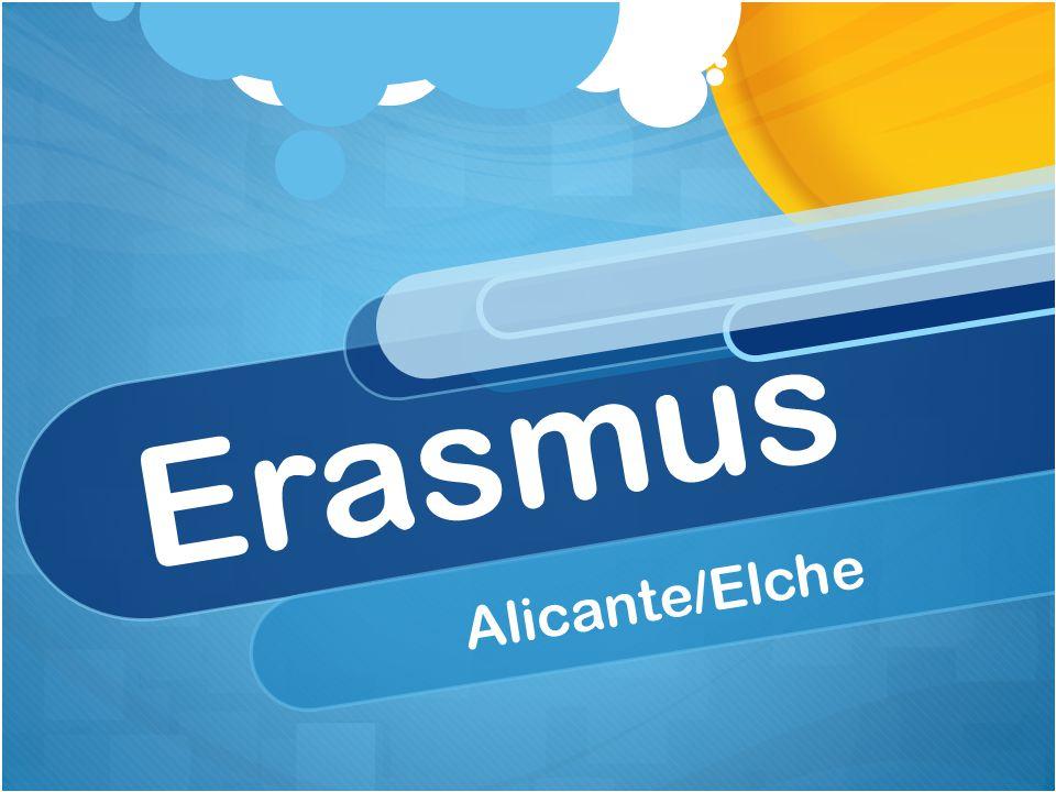 Erasmus Alicante/Elche