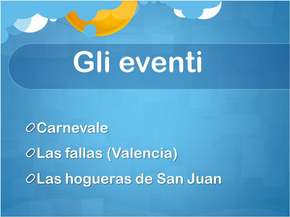 Gli eventi Carnevale Las fallas (Valencia) Las hogueras de San Juan
