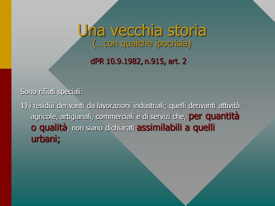 La questione della privativa del Dlvo 22/97 REGIME DI NON PRIVATIVA posizione di negozio, paritaria: rapporto commerciale Fornitore del servizio Cliente Contratto Gerarchia