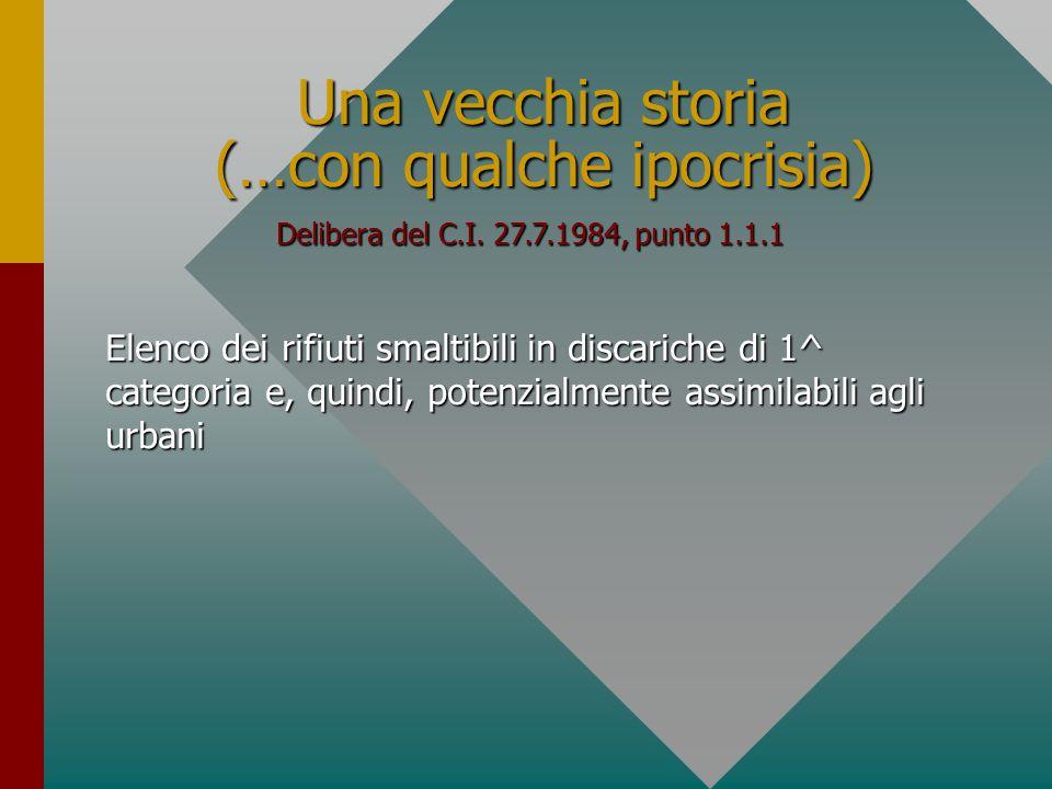 La questione della privativa del Dlvo 22/97 REGIME DI NON PRIVATIVA art.