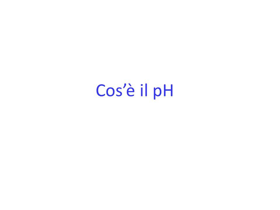 Cos'è il pH