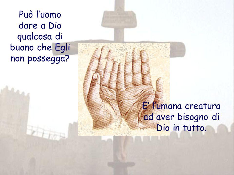 Nella croce si manifesta l'eros di Dio per noi Eros: forza che non permette all'amante di rimanere in se stesso, ma lo spinge a unirsi all'amato.