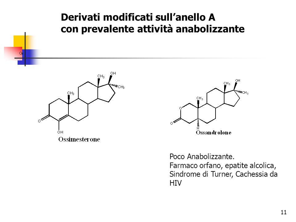 12 Anabolizzanti Uno dei piu potenti anabolizzanti, Utilizzato come antianemico, stimola produzione di eritrociti.
